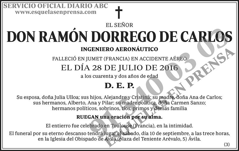 Ramón Dorrego de Carlos